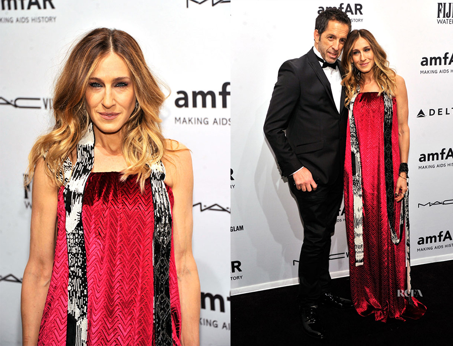 Noticias / Sarah Jessica Parker - amfAR da inicio a la New York Fashion Week