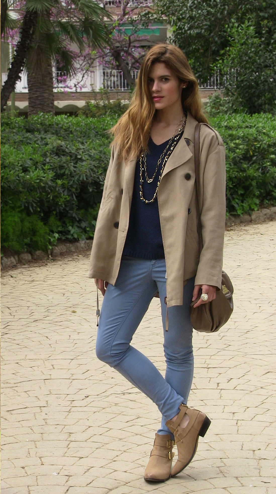 Blue-outfit-Pull&bear