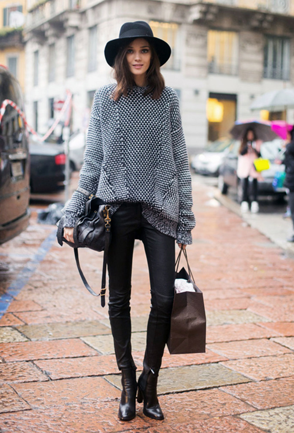Oversize-knit-jumper