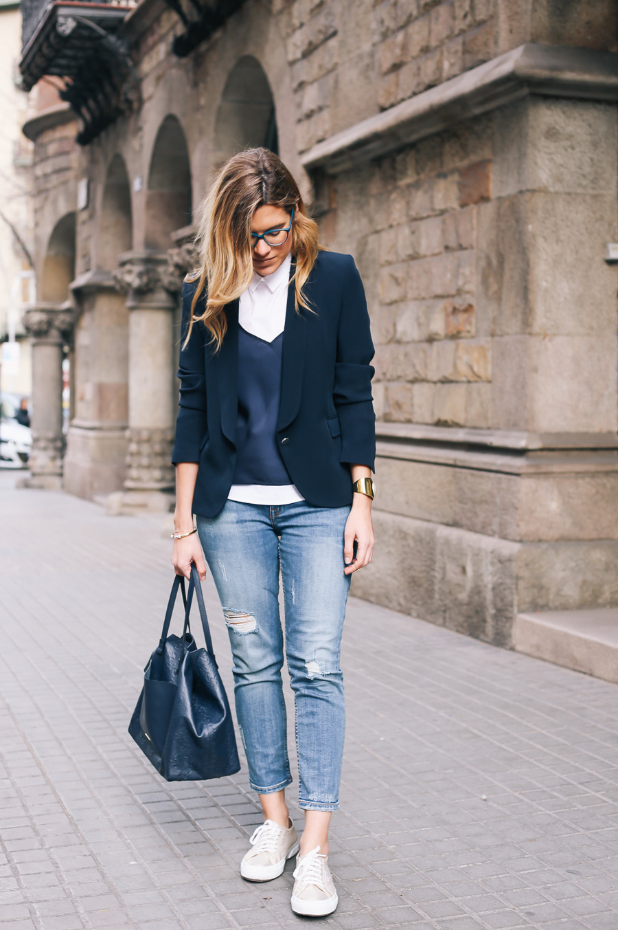 silvia_bosch_look_ikks_jeans-with-blaser