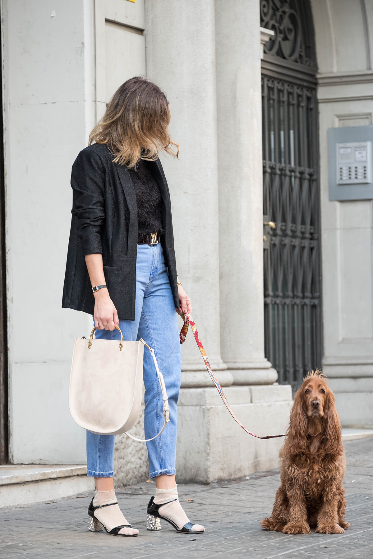 Charles&Keith bag with silviaboschblog